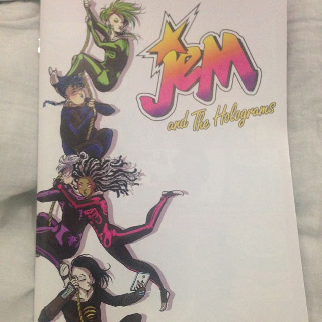 Jem And The Holograms Comic #9