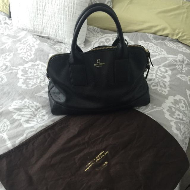 Kate Spade Large Black Purse - Reserved Until Tuesday