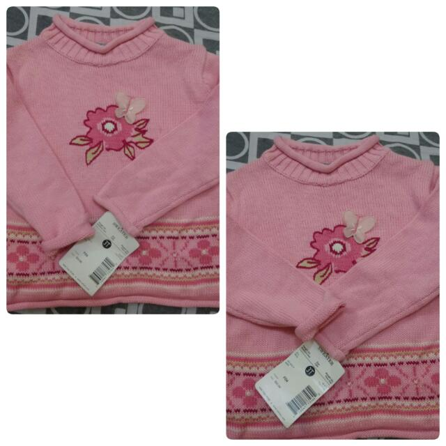 knitted sweater for baby/toddler