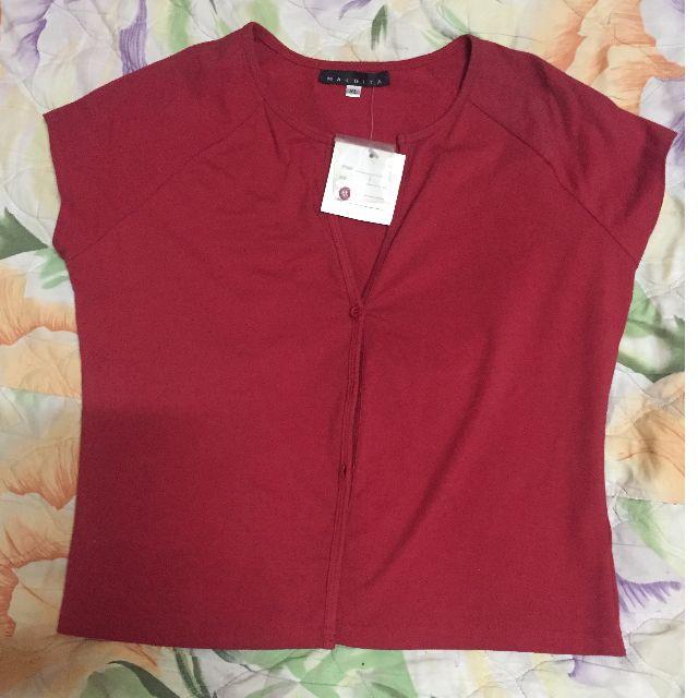 Maldita XL red button top