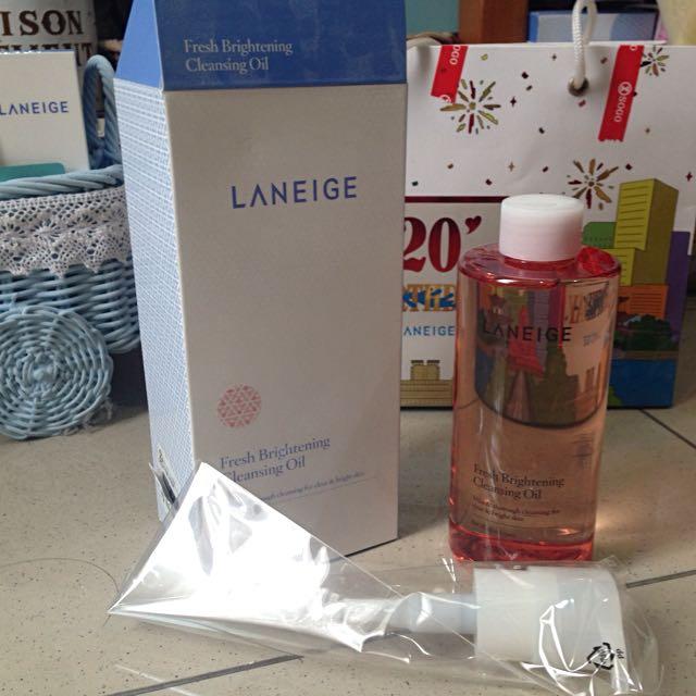 LANEIGE Fresh Brightening Cleansing Oil Full Size 250ml