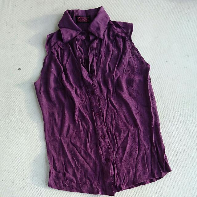 Lhasa Purple Sleeveless