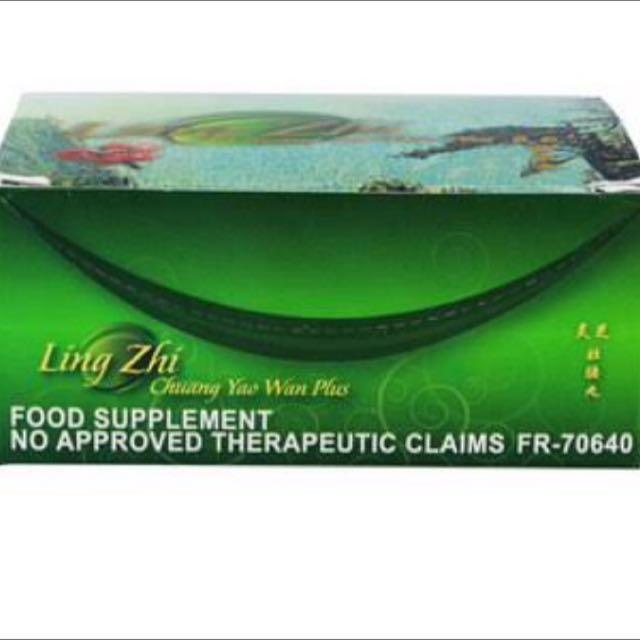 Ling zhi (weight gain cap)