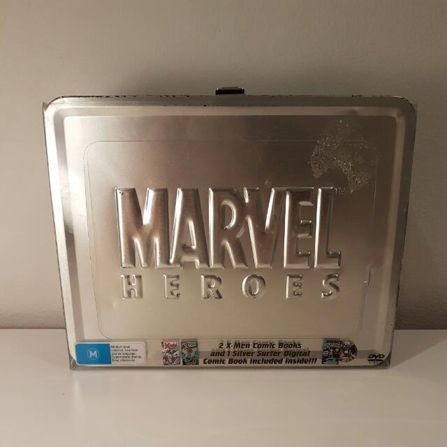 Marvel Collector's Tin Movie Box Set