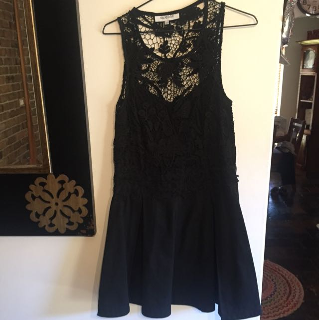 Maurie & Eve Black Dress Size 10