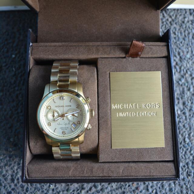 d473affb0050 Michael Kors New York Limited Edition Watch (MK5662)