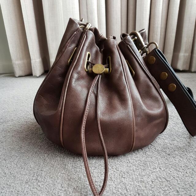 MIMCO Brown Side Bag