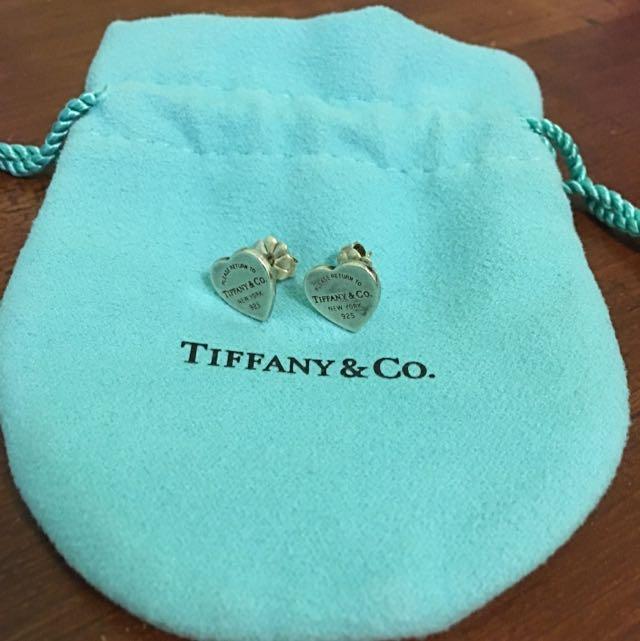 Mini Heart Tag Tiffany & Co. Earrings