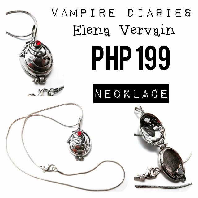 Necklace | The Vampire Diaries: Elena Vervain Locket on Carousell
