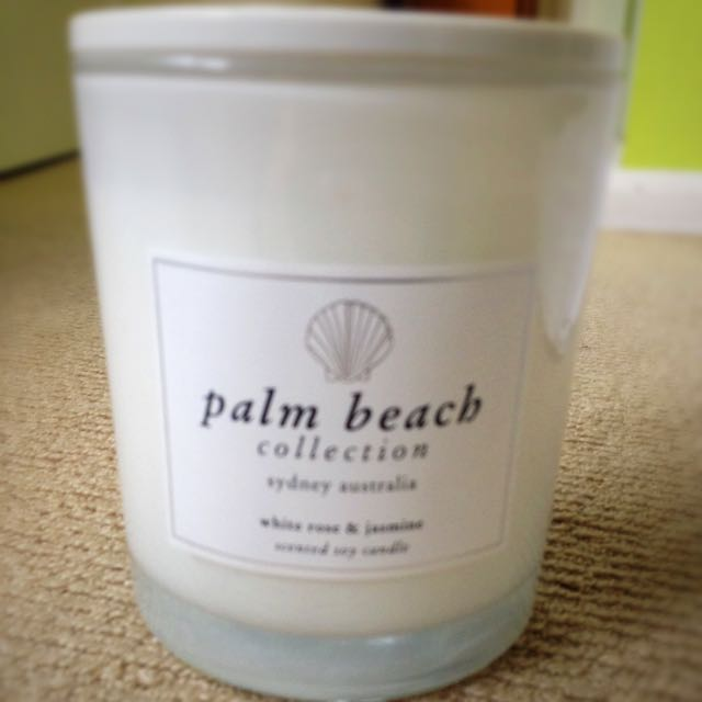 Palm Beach Collection Soy Candle- White Rose & Jasmine 🌷