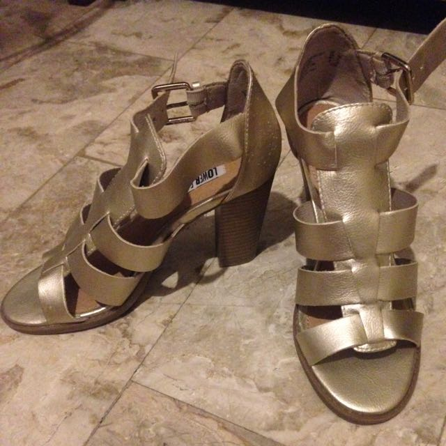 payless strappy heels brand new!