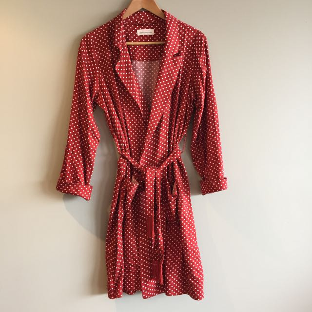 Peter Alexander Smoking Jacket Style Gown