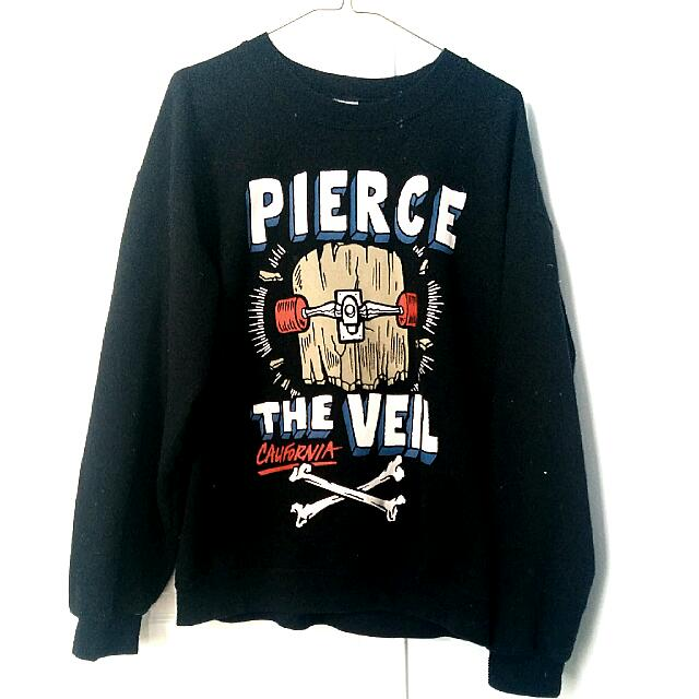 """Pierce The Veil"" Band Crewneck"