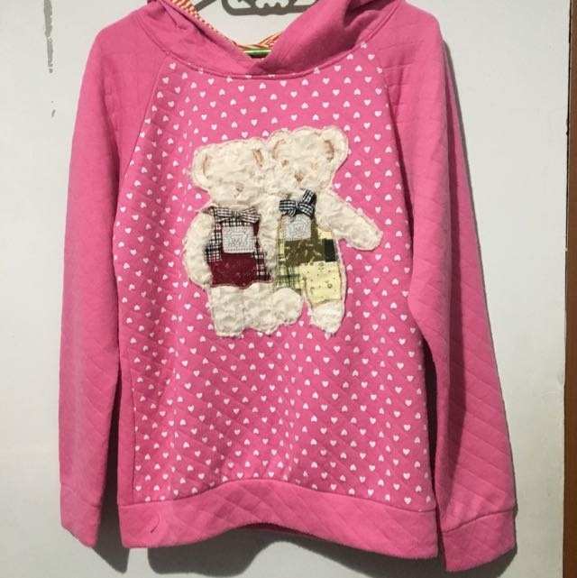 Pink Bear Sweater