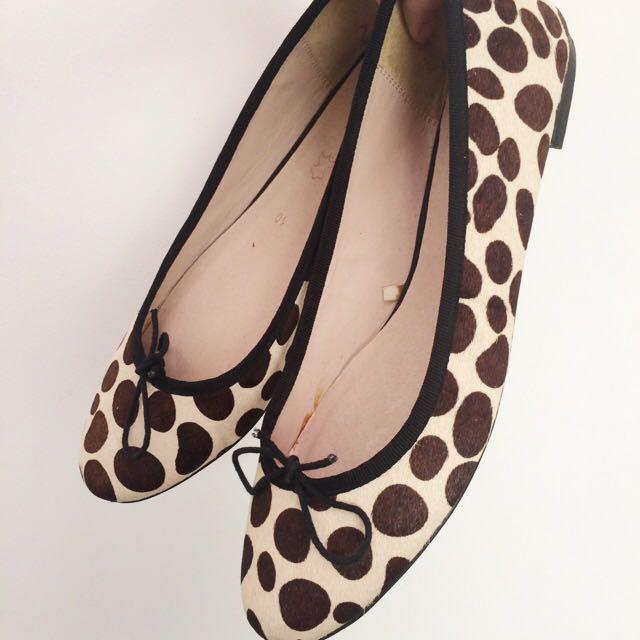 Polkadot Flat Shoes