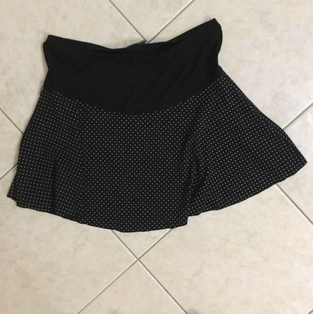 Polka-dot Miniskirt