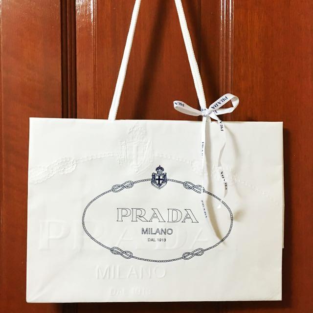 Prada Original Paper Carry Bag
