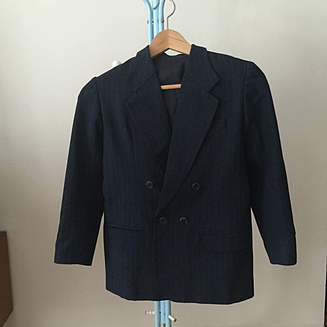 Preloved Navy Blazer