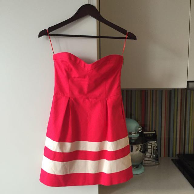 Flirty Red Zara Dress