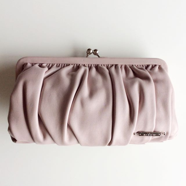 REVIEW Clutch Dusty Pink
