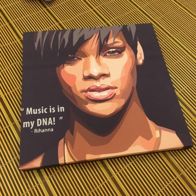 Rihanna壁畫
