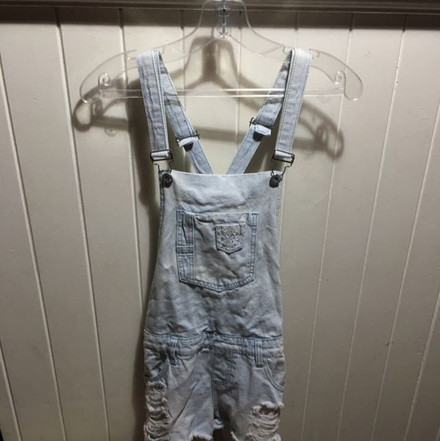 Ripped Overalls