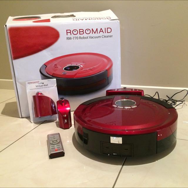 Robomaid Robot Vacuum Cleaner