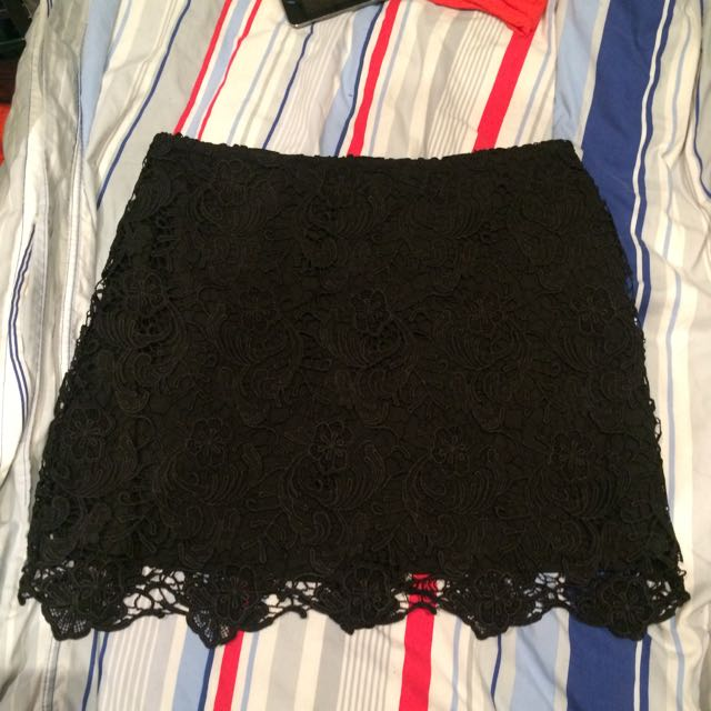 S10 H&m Lace Mini Skirt