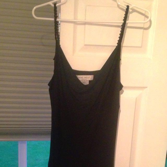Size 10 Nine West Black Cocktail Dress