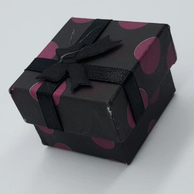 Small Gift Boxes Suitable For Rings Or Earrings