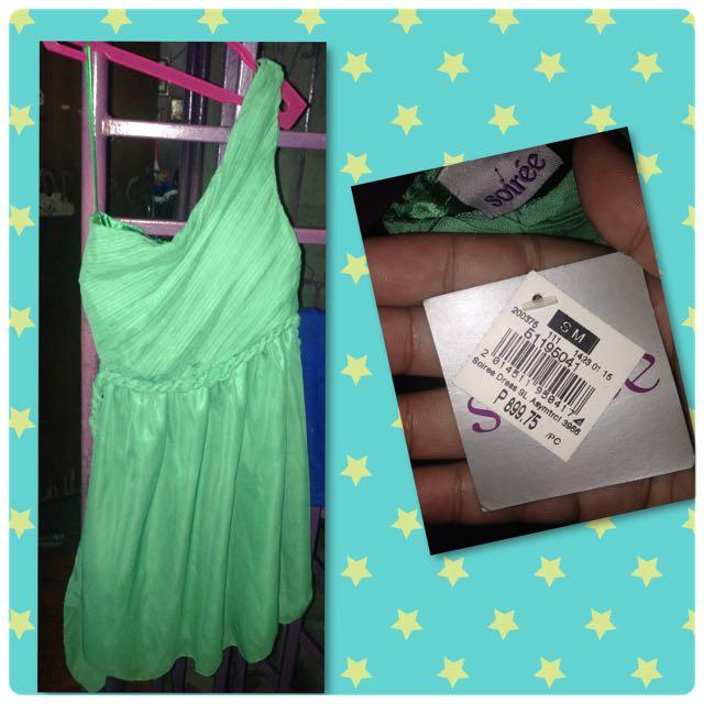 Soirèe Green Cocktail Dress
