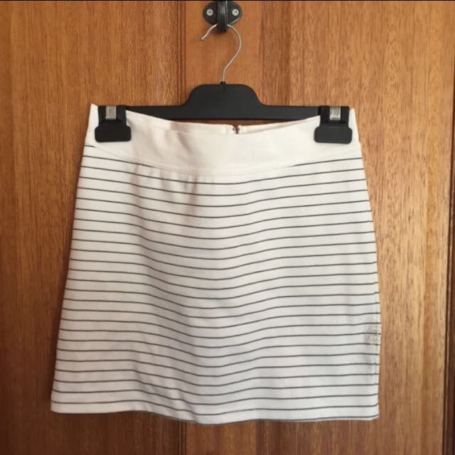 Stussy Striped Skirt - Size 10