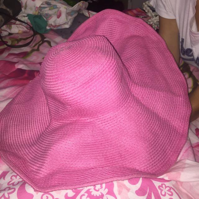 Summer Pink Hat