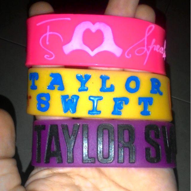 Taylor Swift Wristbands