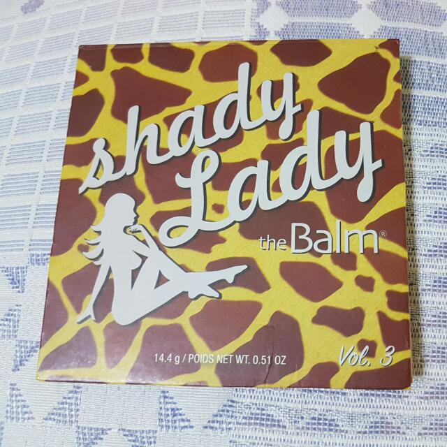 The Balm Shady Lady Palette Volume 3 Eyeshadow