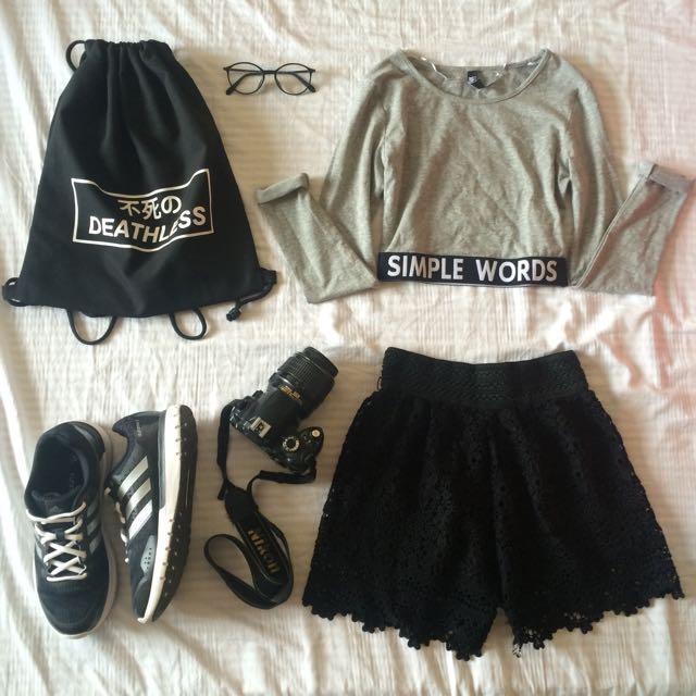 Bohemian Lace Short