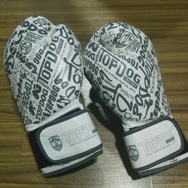 10oz TopDog Boxing Gloves (INCLUDING POSTAGE)
