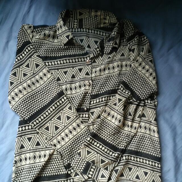 Tribal Chiffon blouse