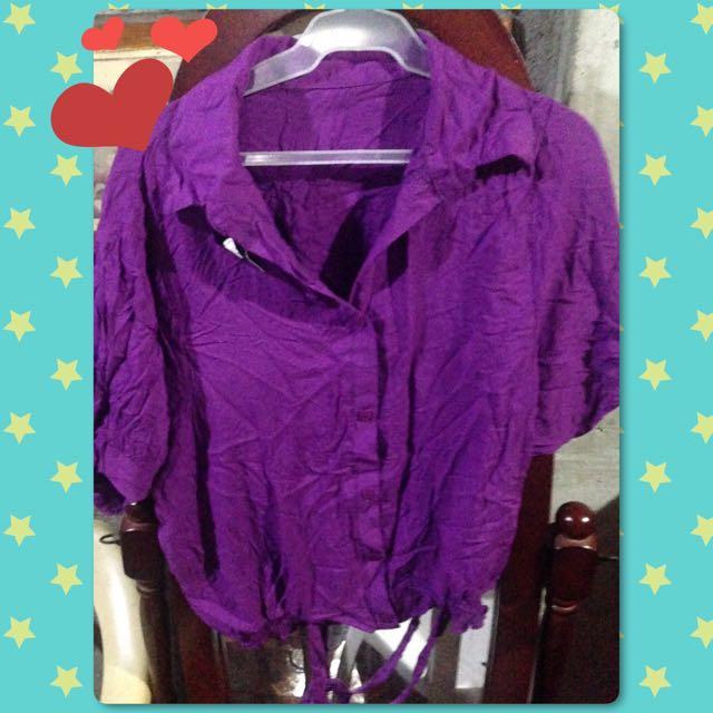 Violet blouse