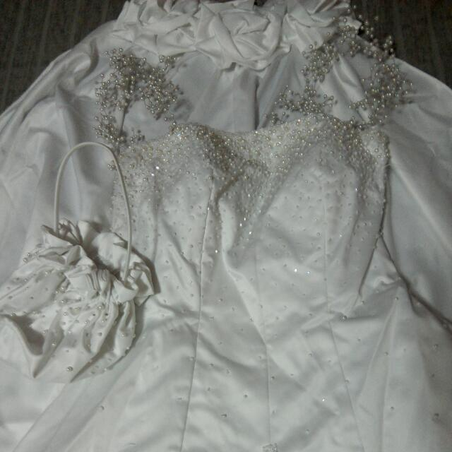 Wedding Gown by Totoy Madriaga