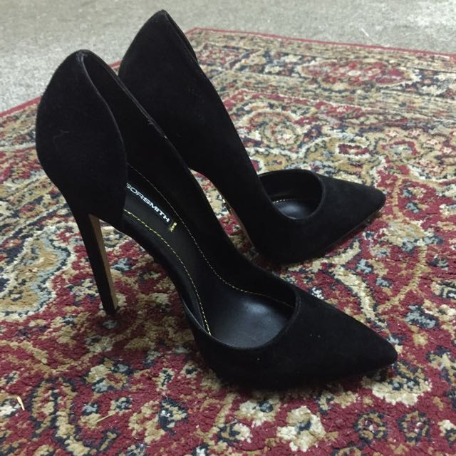 Windsor Smith Black Heels