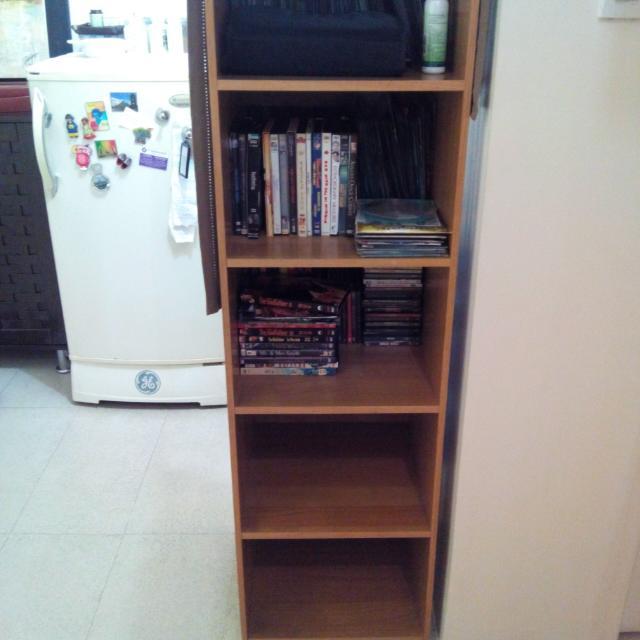 Wood Cabinet 5 Levels.