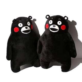 熊本熊絨毛抱枕娃娃