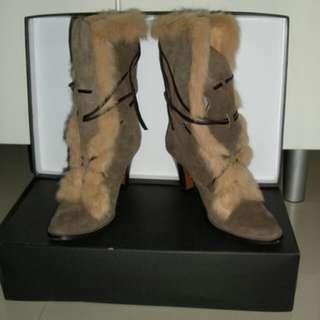 DODOMA 麂皮馬靴