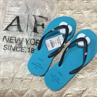 (可議)全新 正品 A&F 拖鞋