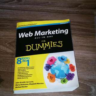 Web Marketing book
