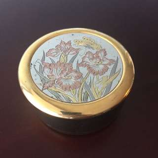 The Art Of Chokin Jewelry Box