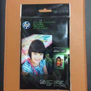 HP Glossy Photo Paper 10 x 15cm / 180g/m2 20 Piece Per Pack