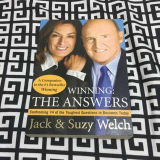 Winning: The Answers By Jack & Suzy Welch