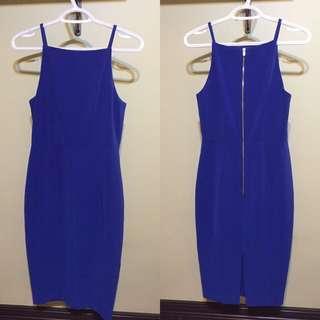 H&M Bleu Dress
